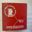 Tecumseh Mechanic's Manual Vintage 1984 2 & 4 Cycle Engine Lauson Power Products