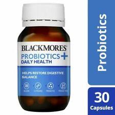 Blackmores Probiotics + Daily Health 30 Capsules
