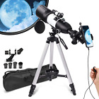 Telescope for Adults Kids Beginners,3 Rotatable Eyepieces 80mm Aperture 400mm Mo picture