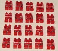LEGO LOT OF 20 NEW RED NINJAGO NINJAGO NYA LEGS PANTS PARTS