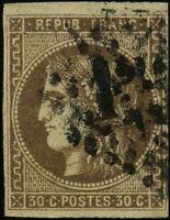 France 1870 stamps definitive USED Mi 42a CV $286.00 171230024