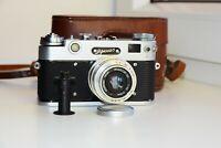 RARE Zorki-5 VINTAGE Copy Leica USSR RF Film Camera w/s lens industar-50 SUPER