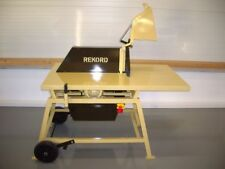REKORD Tischkreissäge Kreissäge Rolltisch RTK-700 - Industriemotor mit 100% ED