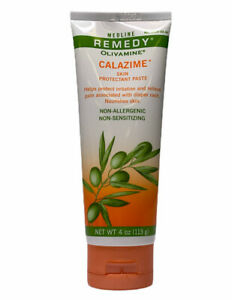 Medline Remedy Olivamine Calazime Skin Protectant Paste, 4 oz, MSC094544