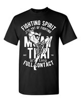 Muay Thai Fighting Spirit T-Shirt / Mixed Martial Arts MMA Training Gym Workout