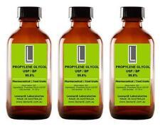 PROPYLENE GLYCOL PG USP & EP 99.8% (Cosmetic & Food Grade) 100ML