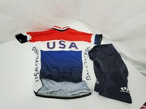 Voler Women's Cycling Jersey & shorts Size Medium