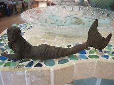 Cast Iron Laying Mermaid - Mermaids - Collectible - Beach Decor -