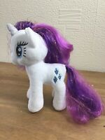 Hasbro2006 SPARKLE Rarity My Little Pony Rare Plush Soft Toy 7 Inch Collectable