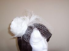 Fascinator Cream - Ivory - White - Races / Bridal / Special Occasion