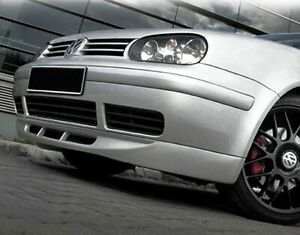 Für VW Golf 4 Front Spoiler Lippe Frontschürze Frontlippe Frontansatz Jubi-