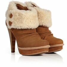 UGG ® Australie Georgette Chestnut Bottines en Daim UK 6.5 EUR 39 USA 8 RRP £ 190