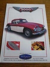 Pilgrim 3000 kit car sales brochure années 2000?