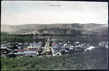 HAYDEN CO ~ 1900's TOWN VIEW ~  (close to Steamboat Springs) ~ before Highway !