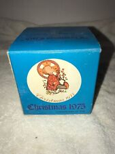 Schmid Brothers 1975 Christmas Ornament Sister Berta Hummel Christmas Child