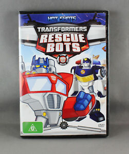 TRANSFORMERS RESCUE BOTS - HOT SHOTS (DVD, 2013) BRAND NEW/SEALED R4 PAL