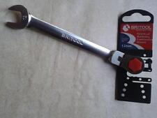 Britool 12mm Flexible Head Ratcheting Ratchet Combination Spanner Wrench RRFJM12
