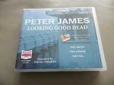 PETER JAMES : LOOKING GOOD DEAD UNABRIDGED 13 CD AUDIOBOOK READ BY DAVID THORPE