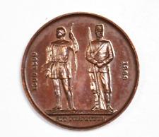 Sit Perpetuum Rifleman Medal Astor County Championship 1932 38mm Bronze Medal