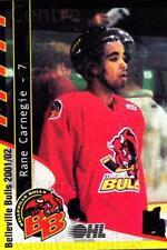 2001-02 Belleville Bulls #4 Rane Carnegie