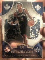 2019-20 Panini Chronicles Crusade #519 Keldon Johnson RC Rookie Card NBA Spurs