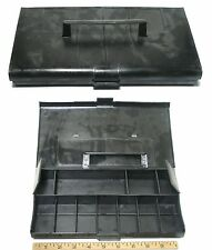 1972 Aurora AFX Thunderjet T-Jet G+ G-PLUS HO Slot Car BLACK PIT KIT Carry Case