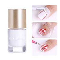 9ml NICOLE DIARY Geruchsfrei Peel Off  Nail Art Latex Tape Schutz Nagel Pflege