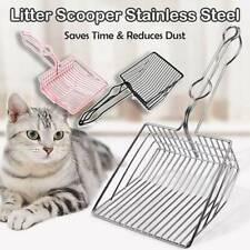 Cat Litter Scoop Metal Waste Scooper Poop Pet Sand Shovel Cleaning Tools dere