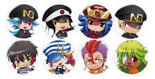 Nanbaka Chibi Anime Button Badge Pins