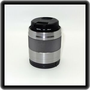Sony E Mount APS-C Format 50mm f/1.8 OSS Lens With UV Filter & Both Caps