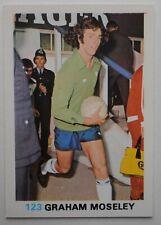 FKS Soccer Stars 1977-1978 NUMBER 123 GRAHAM MOSELEY