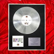 SPICE GIRLS SPICEWORLD CD PLATINUM DISC LP FREE P+P!