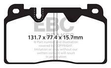 EBC Yellowstuff Front Brake Pads for Audi Q5 (8R) 2.0 TD (2011 > 17)