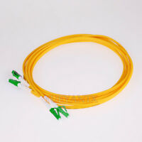 15M LC APC-LC APC Duplex Optical Fiber Cable Patch Cord LC to LC SingleMode