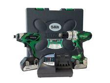 Set di utensili elettrici verde per il bricolage e fai da te