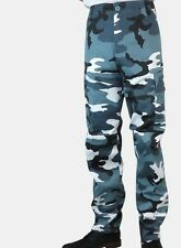 NEW ARMY COMBAT CARGO CAMO MILITARY TROUSERS PANTS all sizes 28-44