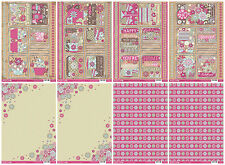Bumper bargain cardmaking kit - Buzzcraft Time for Tea die cut toppers, card