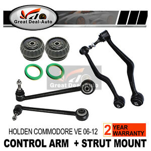VE Commodore Strut Mount Front Lower Castor Control Arms Ball Joint For Holden