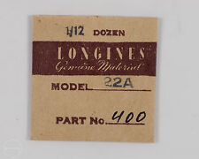 Longines Genuine Material Part #400 Tension Click Nut for 22A