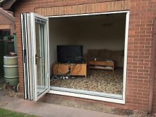 Aluminium Bifold Doors,grey,black,white,cream 1
