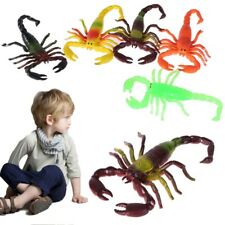 TPR Simulation Plastic Scorpion Animal Model Children Kids Educational Play Toys