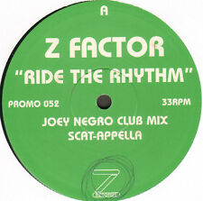 Z FACTOR - Ride The Rhythm - z Records