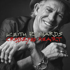 "KEITH RICHARD ""CROSSEYED HEART"" ( 2 LPS) PREMIUM QUALITY USED LP (NM/NM)"