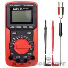 Yato Eléctrico Profesional Digital Multimeter Auto Rango, apagado yt73087