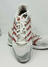 SPIRA MENS athletic white red sneakers SRS111 Size 11