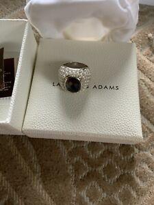 Lauren G Adams pear ring