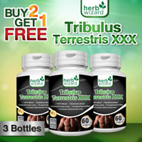 TRIBULUS TESTO ANABOLIC STRONGEST LEGAL TESTOSTERON MUSCLE BOOSTER TRIBULUS x3