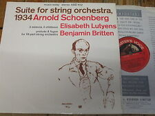 ASD 612 Schoenberg Suite for String Orchestra etc. / Del Mar S/C