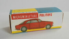 REPRO BOX POLITOYS N 39 ALFA ROMEO