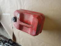 Benzin Diesel Reserve Kanister 10 L Metall rot Behälter